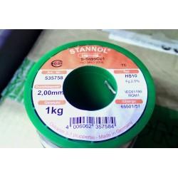 Stannol TC Sn99%Cu1% 2mm...