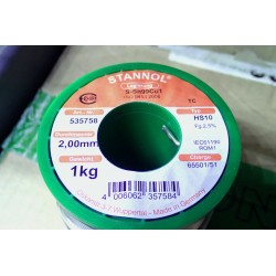 Stannol wire welding TC...